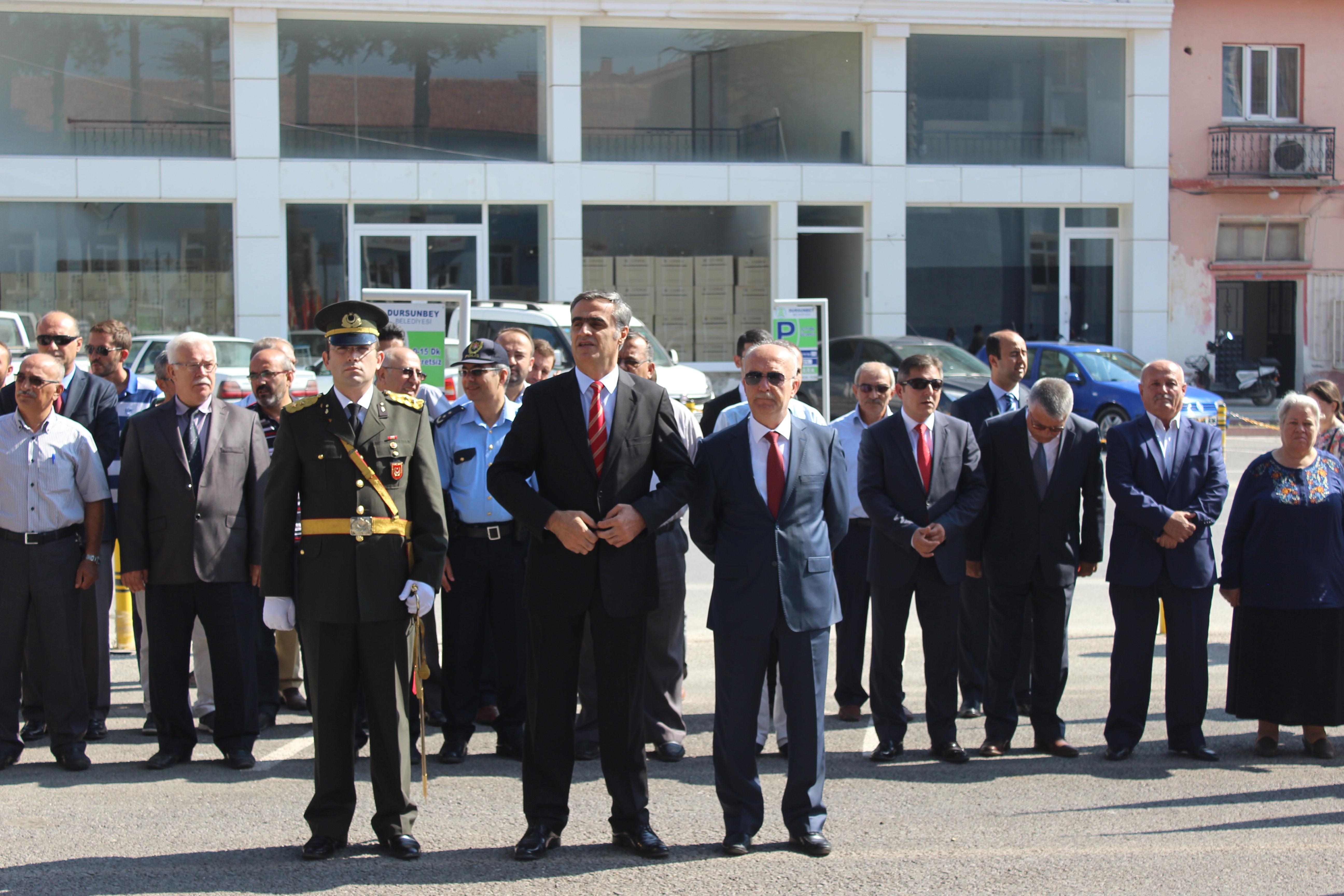 Dursunbey'de 30 Ağustos Zafer Bayramı Kutlandı