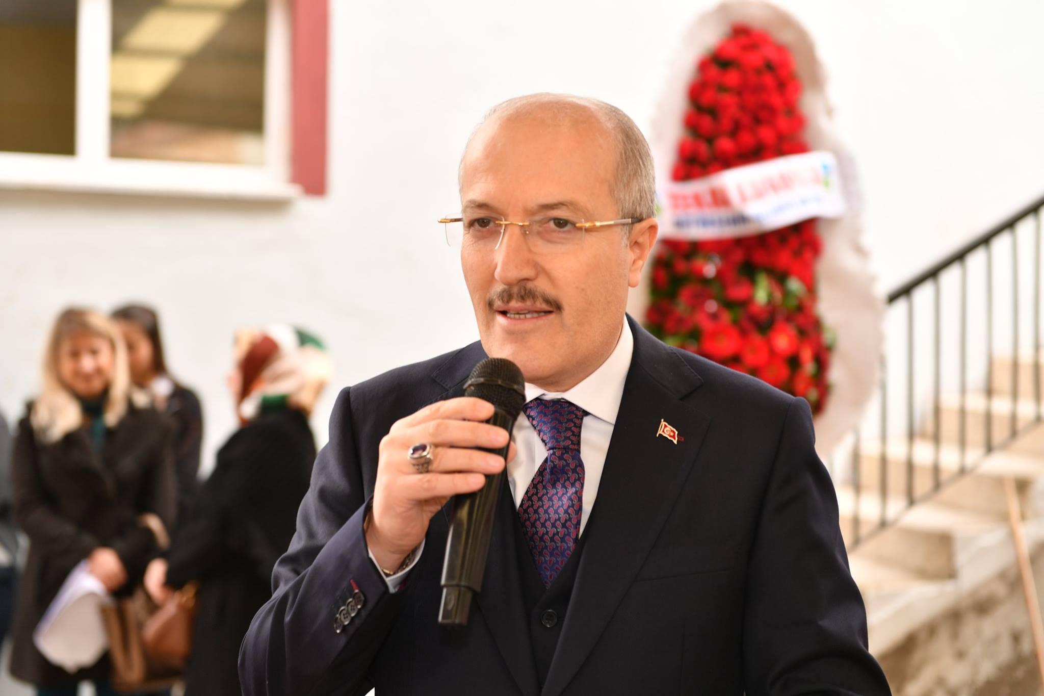 Büyükşehir Belediye Başkanı Zekai KAFAOĞLU' Dursunbey'e Hizmet için Varız