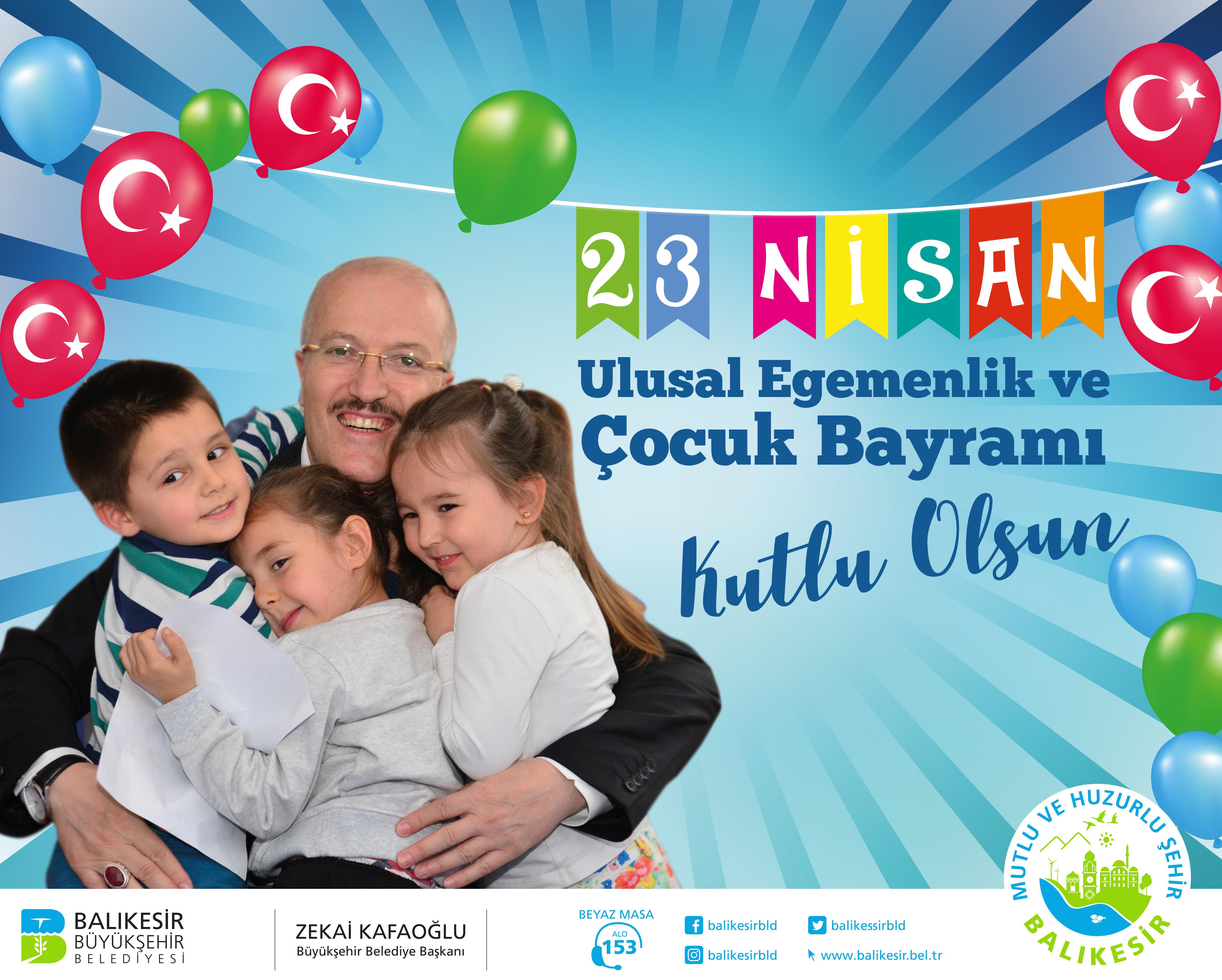 Balıkesir Büyükşehir Belediyesi 23 Nisan Kutlaması