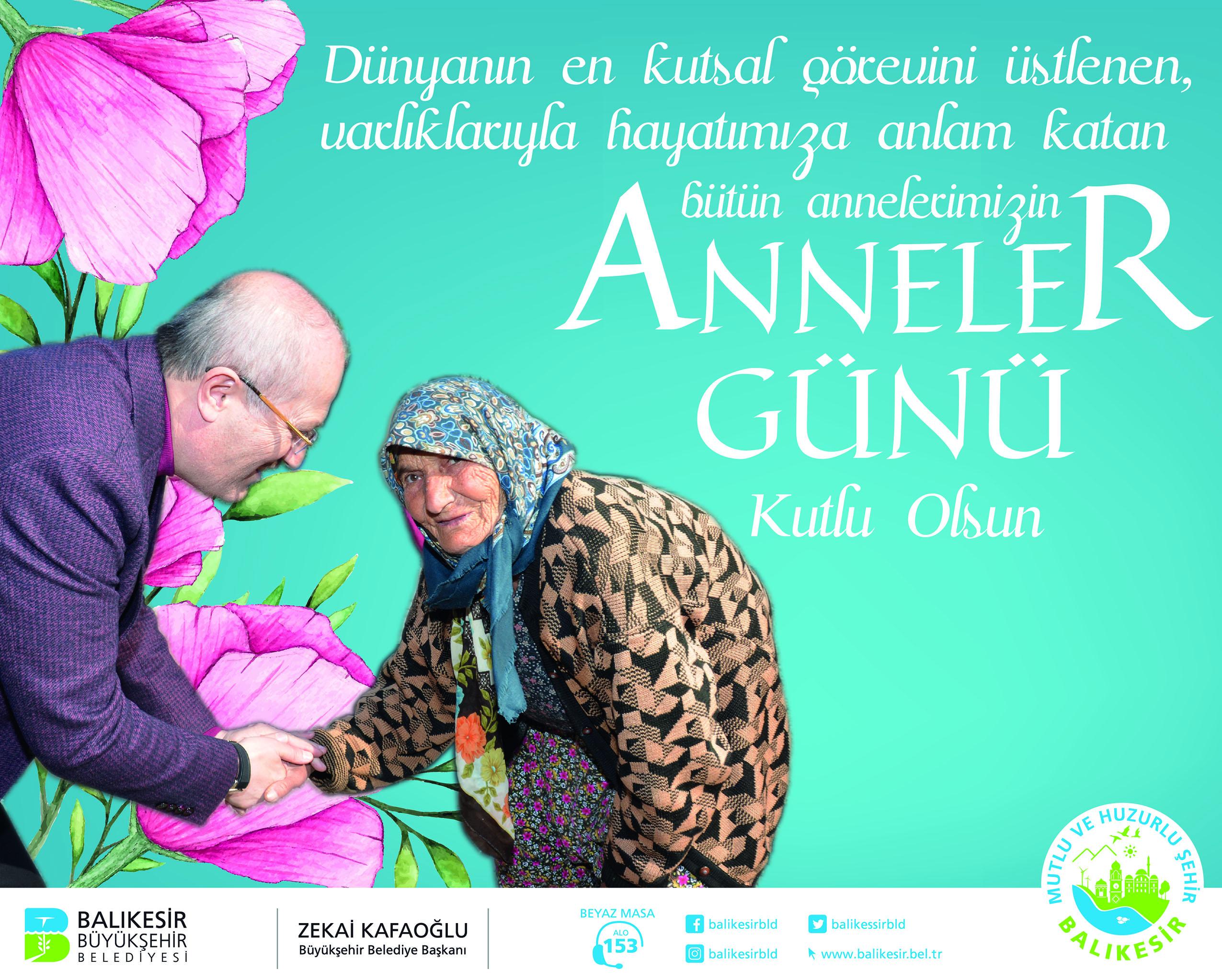 Balıkesir Büyükşehir Belediye Başkanlığı Anneler Günü Kutlaması