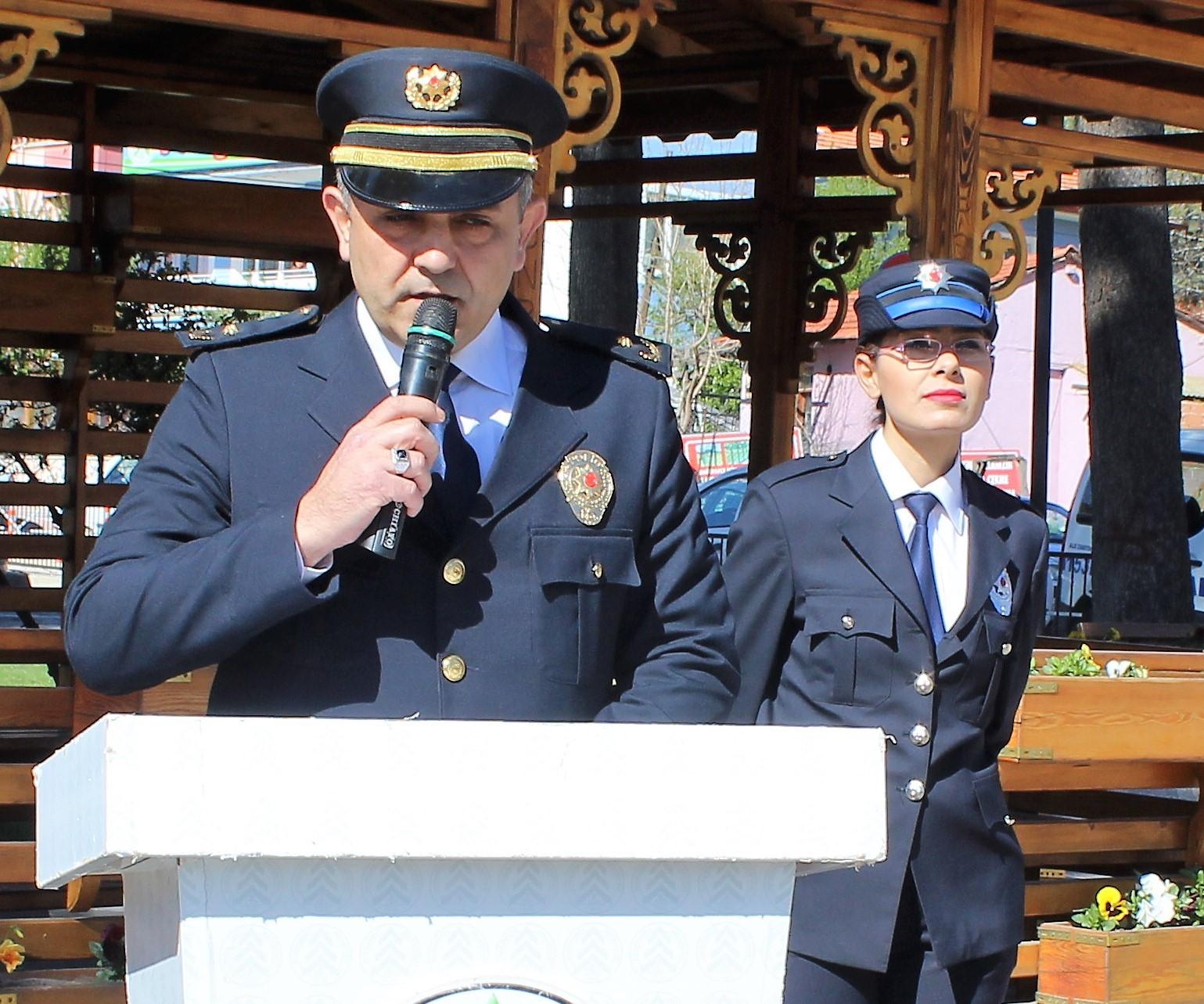 10 NİSAN POLİS HAFTASI KUTLANDI