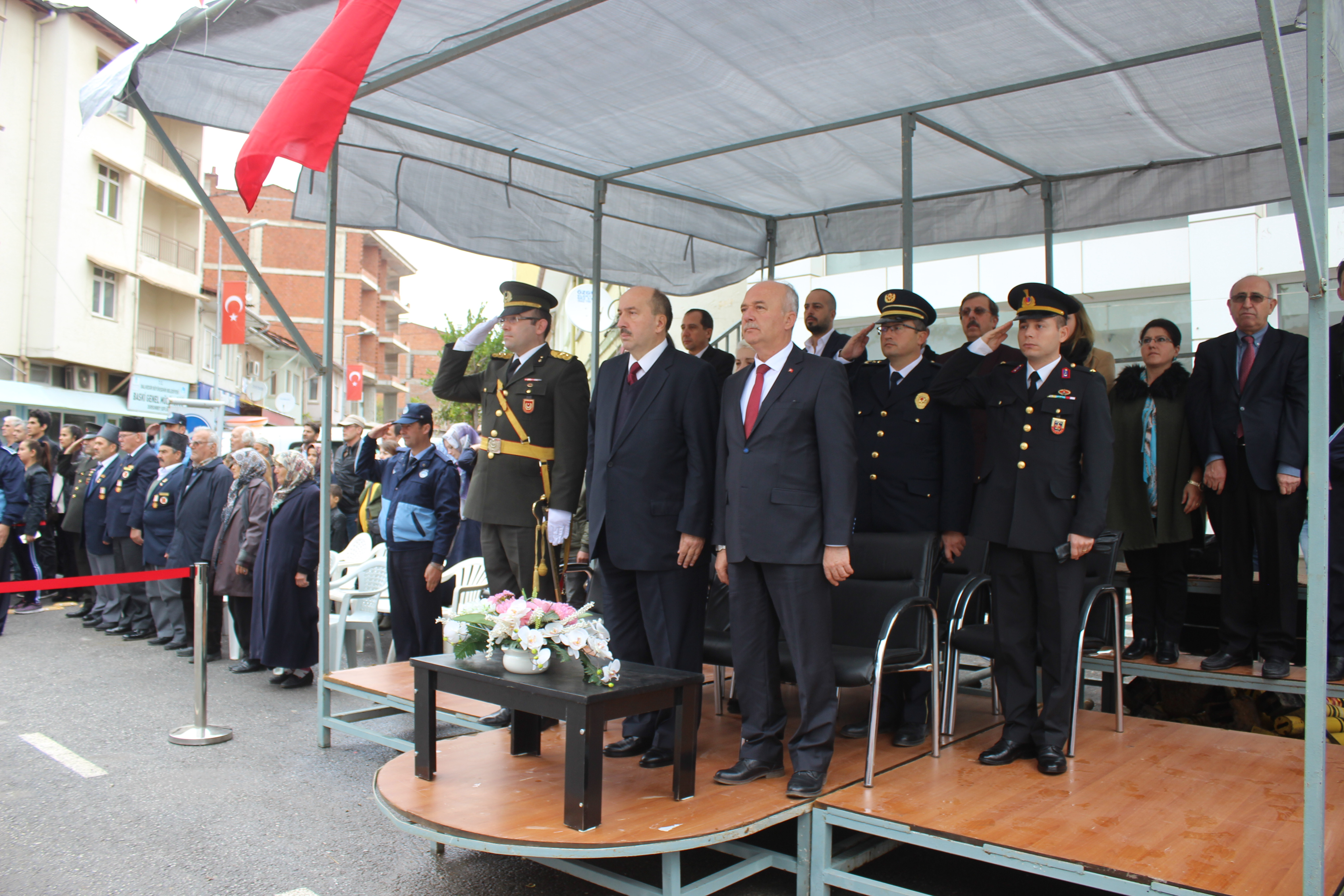 Dursunbey'de Cumhuriyet Bayramı Coşkuyla Kutlandı