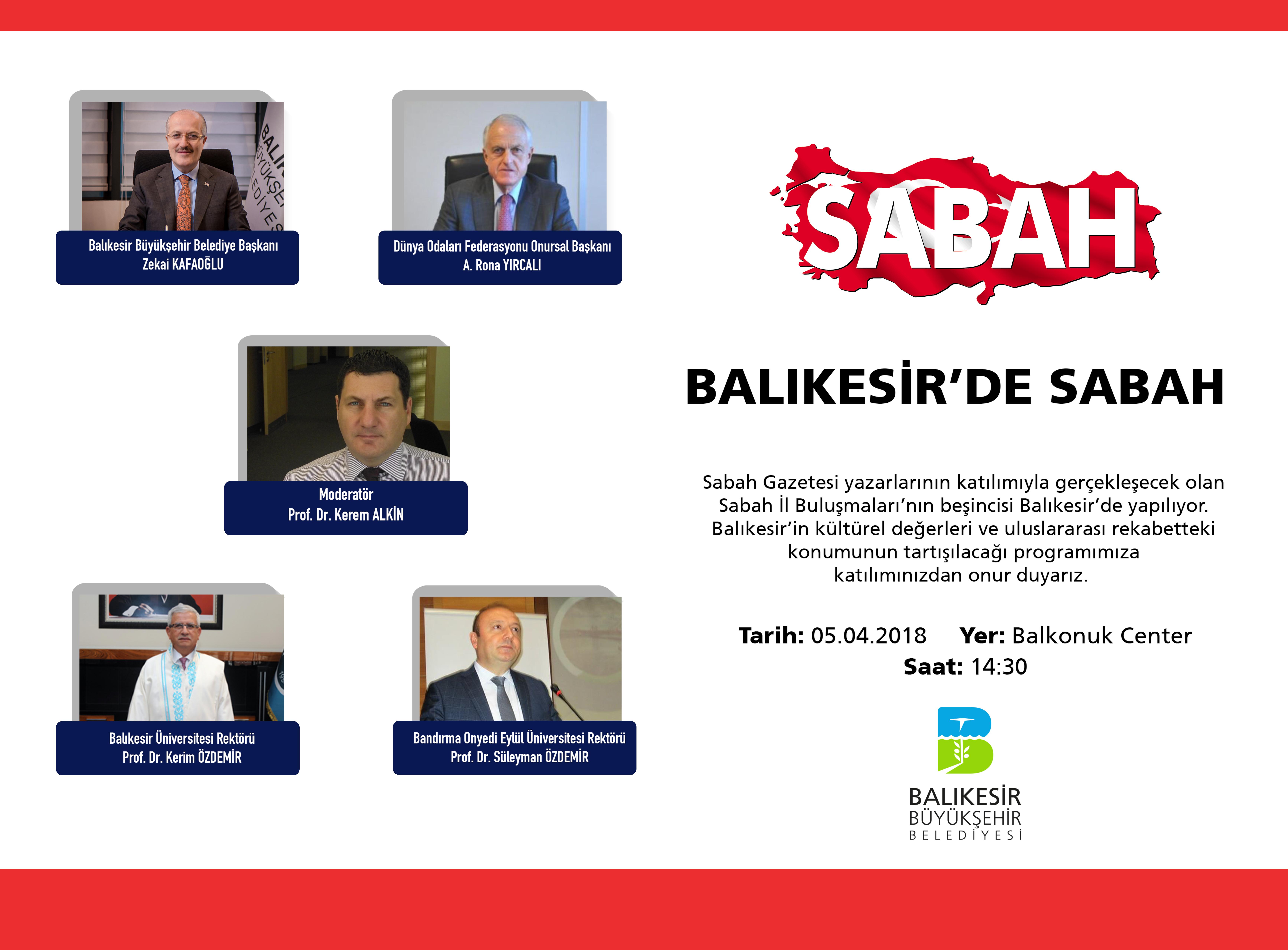 BALIKESİR'DE SABAH