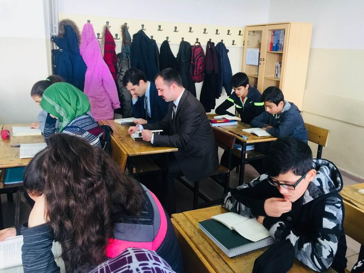 BENGİ Projesi kapsamında 125. Yıl İMKB Yatılı Bölge Ortaokulu ziyaret edidi.