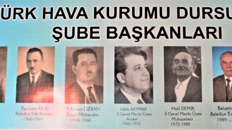 .Türk Hava Kurumu Dursunbey Şube Başkanlığı görevine Bahattin Şad'dan sonra İlhan Sıkıcı getirildi