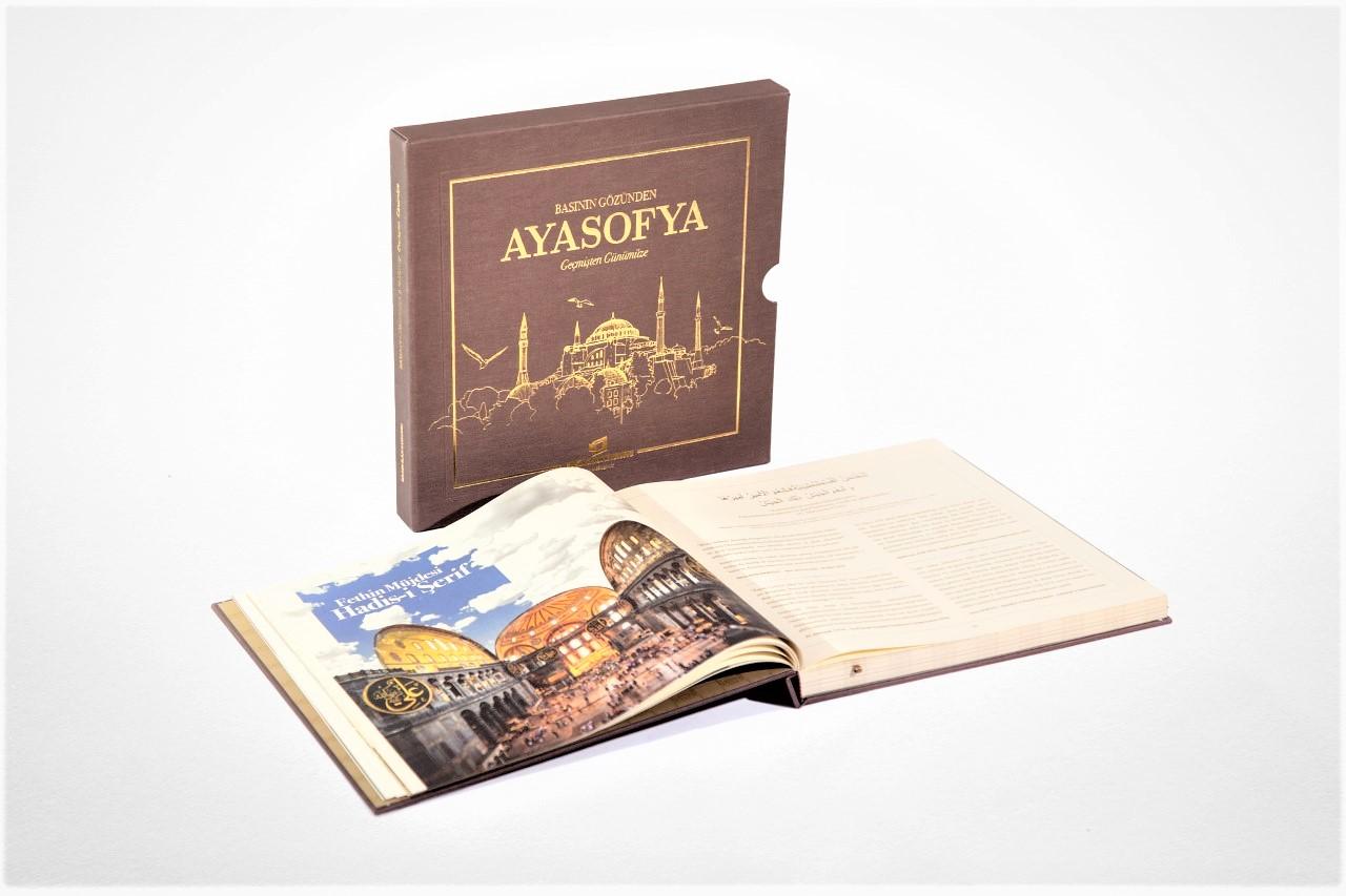 Basın İlan Kurumundan Prestij Kitap: Basının Gözünden Ayasofya Geçmişten Günümüze