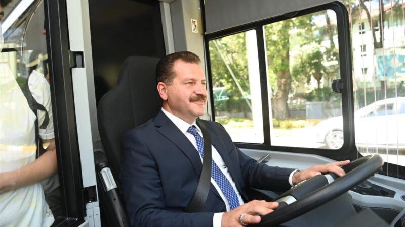 –Çevre dostu otobüsler yollarda
